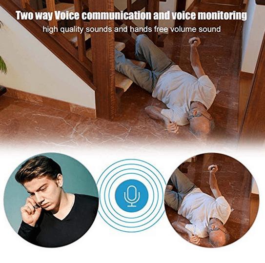 دستگاه شنود صدا با ارتباط صوتی دو طرفه