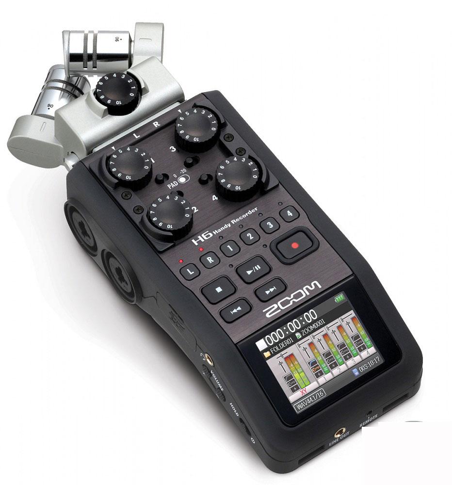 دستگاه ضبط صدا زوم مدل H6