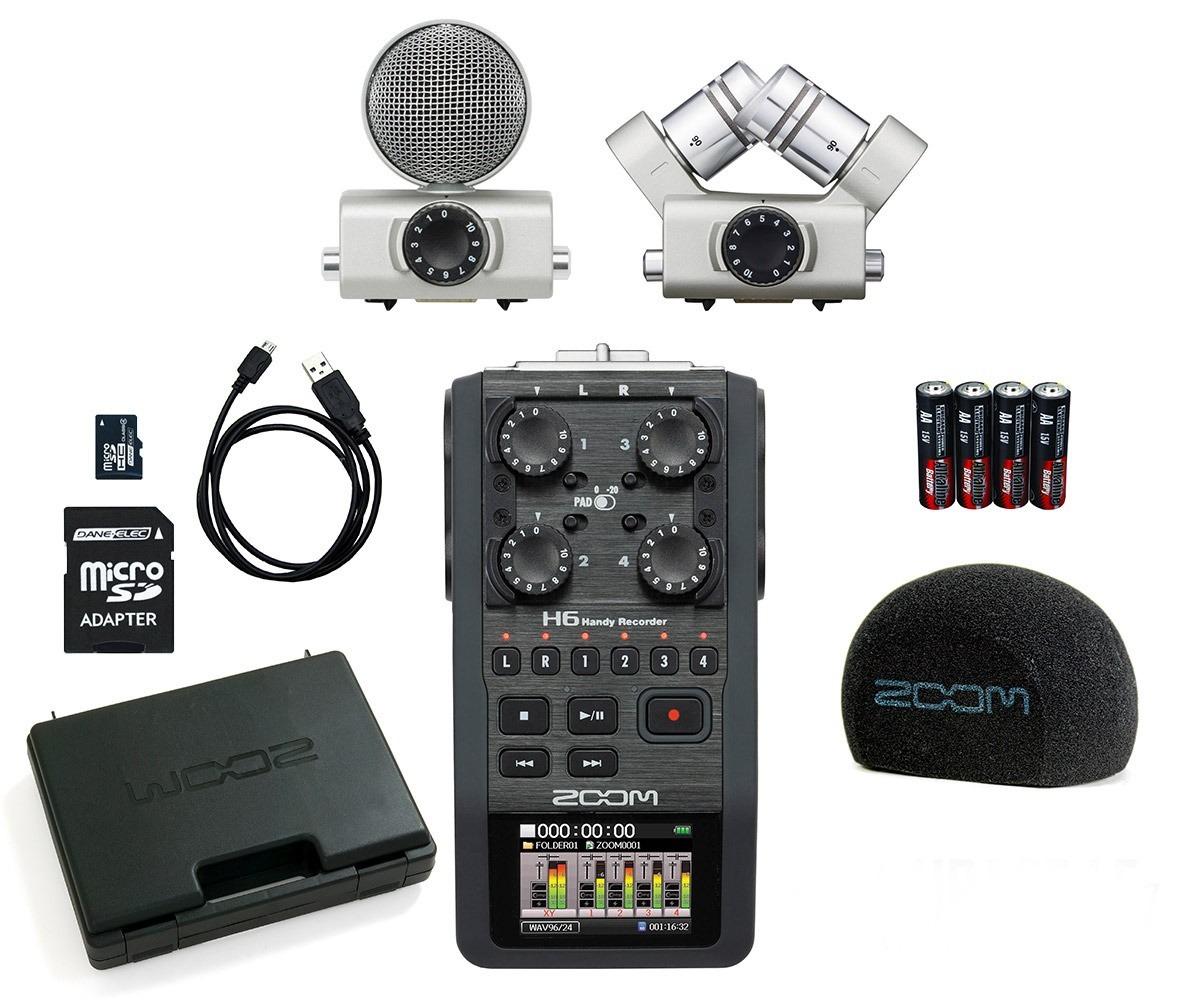 دستگاه ضبط صدا زومH6